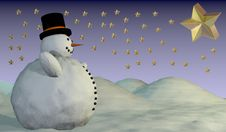 Free Snowman Stock Images - 16453034