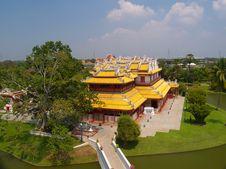 Free Bang Pa In Palace Royalty Free Stock Images - 16453429