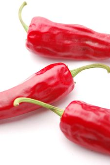 Free Red Hot Chili Peppers Royalty Free Stock Image - 16453476