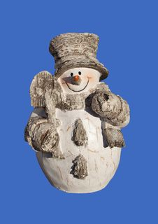 Free Snowman Isolated Stock Photography - 16453592