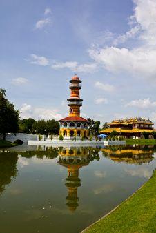 Free Bang Pa-in Palace Ayutthaya Thailand Royalty Free Stock Image - 16454546