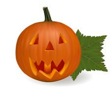 Free Halloween Pumpkin. Royalty Free Stock Photo - 16455115