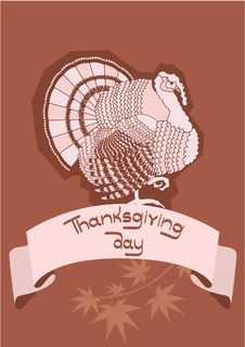 Free Thanksgiving Ornate. Stock Photos - 16456153