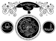 Free Thanksgiving Ornate. Royalty Free Stock Photography - 16456187