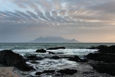 Free Table Mountain Royalty Free Stock Photography - 16456517