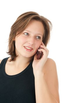 Free Woman On Phone Stock Photos - 16457173