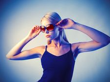 Free Fashion Sunglasses Royalty Free Stock Photos - 16457818
