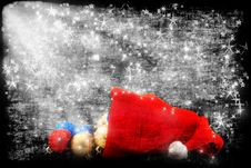 Free Cap Of Santa Stock Photography - 16458542