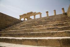 Free Lindos Acropolis Greece Stock Image - 16458591