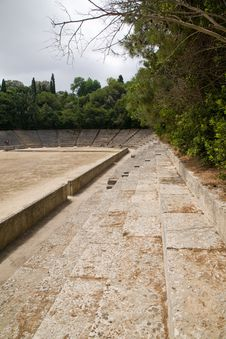 Free Ancient Greek Acropolis Sports Stadium Royalty Free Stock Images - 16458689