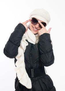 Free Winter Woman Royalty Free Stock Photography - 16458827