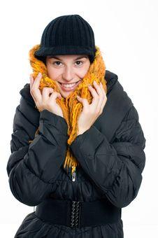 Free Winter Woman Royalty Free Stock Photos - 16458898