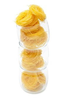 Free Pasta In Glass Jar Royalty Free Stock Photography - 16459247