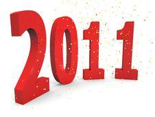 Free Happy 2011 Stock Photos - 16459433