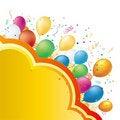 Free Balloon Illustration Royalty Free Stock Photo - 16461135