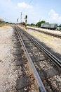 Free Line Of Railway. Stock Photography - 16463792
