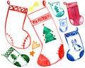 Free Christmas Socks Royalty Free Stock Image - 16468856