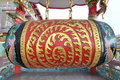 Free Big Old Chinese Drum Stock Images - 16469664