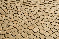 Free Cobblestones Pavement Royalty Free Stock Images - 16460319