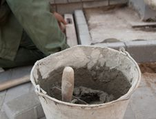 Free Bricklayer Stock Photography - 16460412