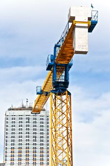 Free Construction Crane Royalty Free Stock Photography - 16461377