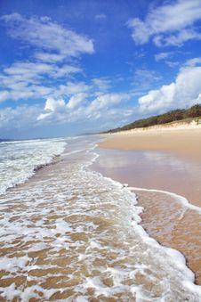 Free Empty  Beach Royalty Free Stock Photo - 16461385