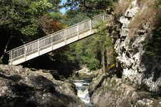 Free Wooden Bridge. Stock Images - 16461434