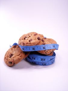 Free The Cookie Diet Royalty Free Stock Photos - 16461438