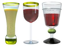 Free Glass Collection Stock Image - 16461711