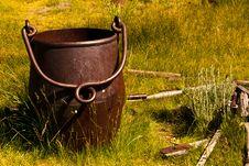 Free Slag Bucket Royalty Free Stock Image - 16462576