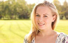 Free Pretty Lady Portrait Stock Photography - 16463012