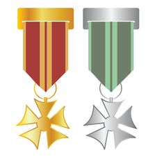 Free Medals Royalty Free Stock Photo - 16463825