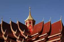 Free Temple Roof In Myanmar Stock Photography - 16464282