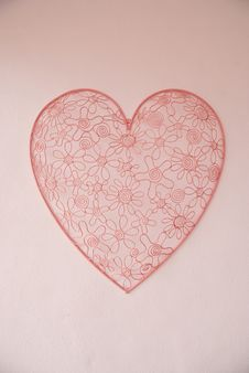 Heart Decoration Stock Photos