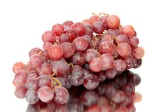 Free Red Grapes, Isolated. Royalty Free Stock Photos - 16465008