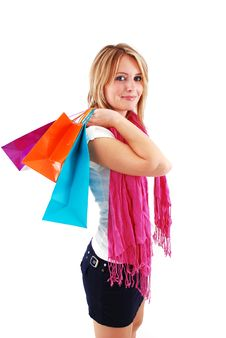 Free Shopping Girl Stock Photos - 16465613