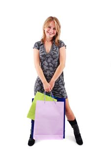 Free Shopping Girl Stock Photography - 16465632