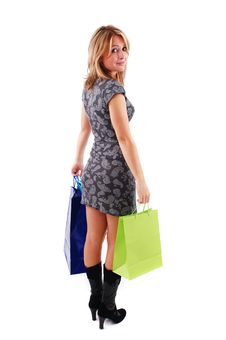 Free Shopping Girl Stock Images - 16465644