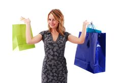 Free Shopping Girl Royalty Free Stock Image - 16465646