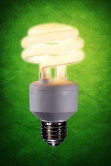 Fluorescent Light Bulb Stock Photography