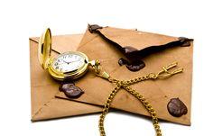 Free Envelopes And Clock Stock Photos - 16466183