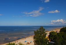 Free Baltic Beach In The Summer Royalty Free Stock Images - 16466419