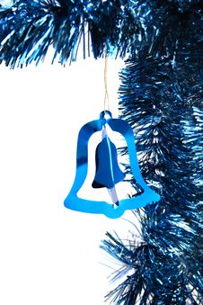 Free Blue Christmas Tinsel Royalty Free Stock Images - 16468449