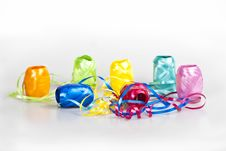 Free Set Of Colourful Gift Ribbons Stock Images - 16468554