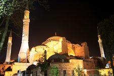 Free Hagia Sophia, Istanbul Stock Photography - 16469192