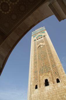 Free Mosque In Casablanca, Morocco Stock Photos - 16469403