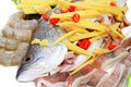 Free Fresh SeaBass With Ginger And Chili Royalty Free Stock Images - 16471769