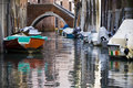 Free Venice Canals And Boats Stock Photos - 16479693