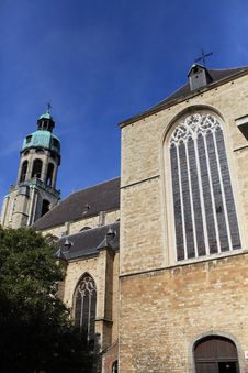 Free Church Sint-Pauluskerk At Antwerp Royalty Free Stock Images - 16470039