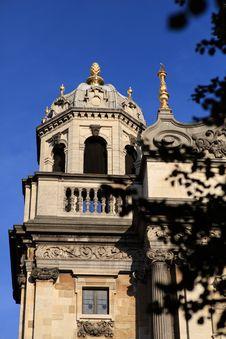Free Zoom In View Of Carolus Borromeus Church @ Antwerp Royalty Free Stock Photography - 16470157
